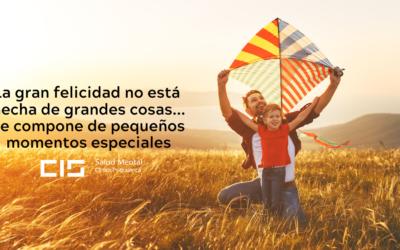 La gran felicidad no está hecha de grandes cosas